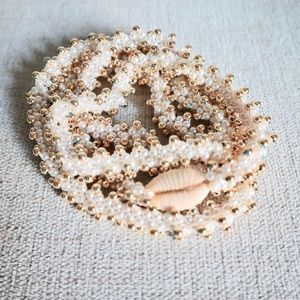 Vintage faux pearl costume jewelry